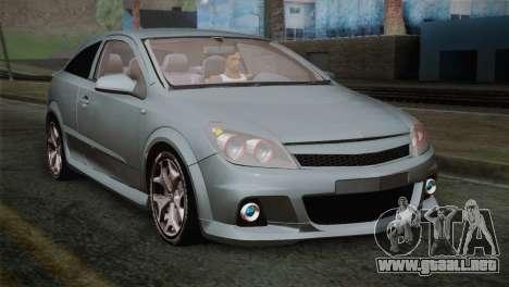 Opel Astra OPC Stock para GTA San Andreas