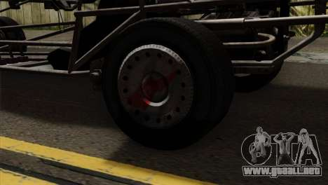 GTA 5 Space Docker para GTA San Andreas vista hacia atrás