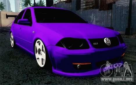 Volkswagen Jetta GLI 2010 TnTuning para GTA San Andreas