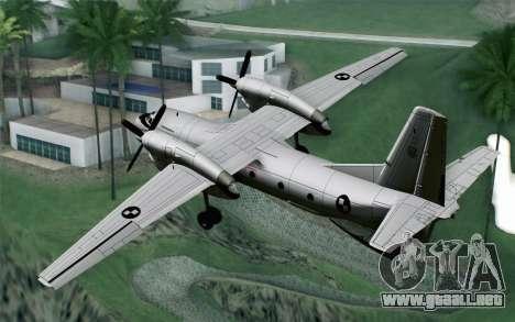 AN-32B Croatian Air Force Opened para GTA San Andreas left