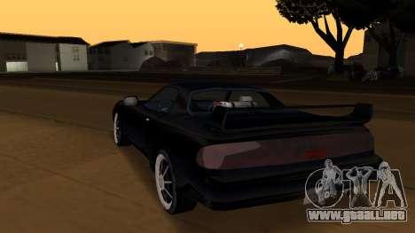 Beta ZR-350 Final para GTA San Andreas interior
