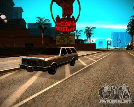 ENB GreenSeries para GTA San Andreas décimo de pantalla