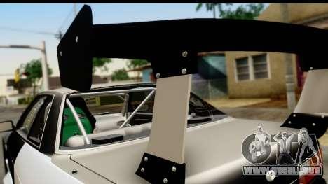 Nissan Silvia S13 Drift para la visión correcta GTA San Andreas