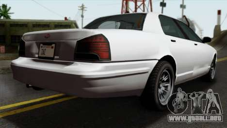 GTA 5 Vapid Stanier II SA Style para GTA San Andreas left