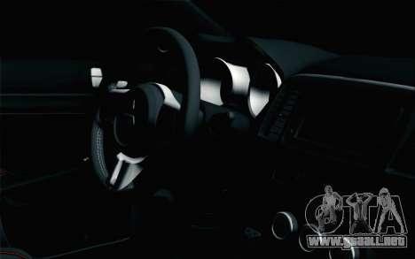 Mitsubishi Lancer X para la visión correcta GTA San Andreas