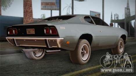 FlatOut 2 Scorpion para GTA San Andreas left