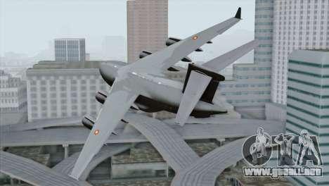 C-17A Globemaster III QAF para GTA San Andreas left
