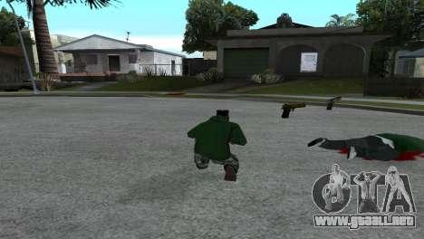 Gold Desert Eagle para GTA San Andreas segunda pantalla