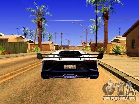 Lamborghini Aventador Novitec Torado para GTA San Andreas left