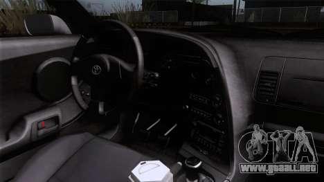 Toyota Supra US-Spec (JZA80) 1993 HQLM para la visión correcta GTA San Andreas