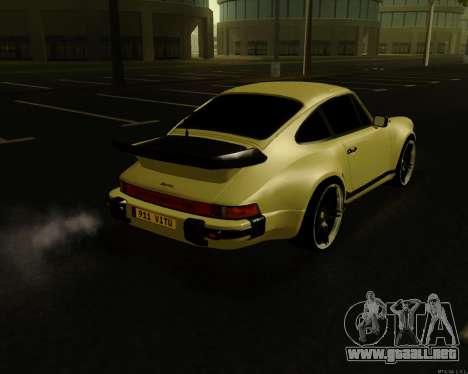 Porsche 911 Turbo para GTA San Andreas left
