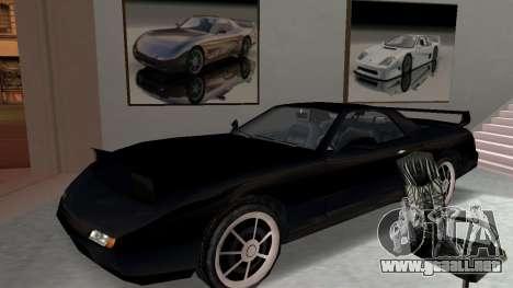 Beta ZR-350 Final para visión interna GTA San Andreas