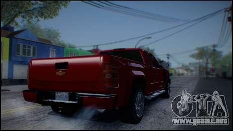 Chevrolet Silverado 1500 HD Stock para la visión correcta GTA San Andreas