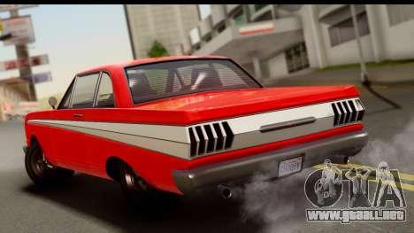 GTA 5 Vapid Blade v2 para GTA San Andreas left