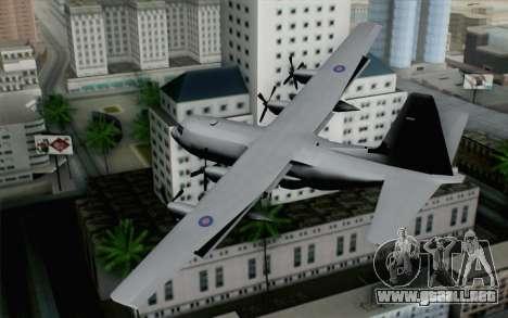 C-130H Hercules RAF para GTA San Andreas left