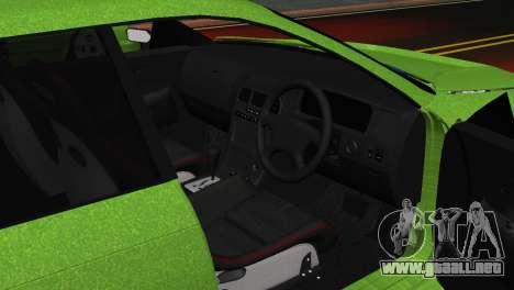 Toyota Mark II Tourer_V para GTA San Andreas vista hacia atrás