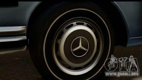 Mercedes-Benz 300 SEL 6.3 (W109) 1967 HQLM para GTA San Andreas vista hacia atrás