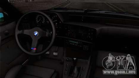 BMW M635 CSi 1984 Stock para la visión correcta GTA San Andreas