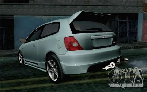 Honda Civic Type R para GTA San Andreas left