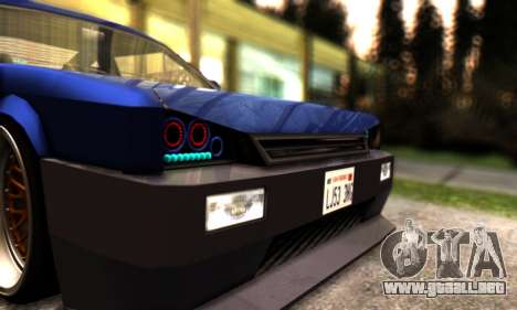 Blista Compact By VeroneProd para vista lateral GTA San Andreas