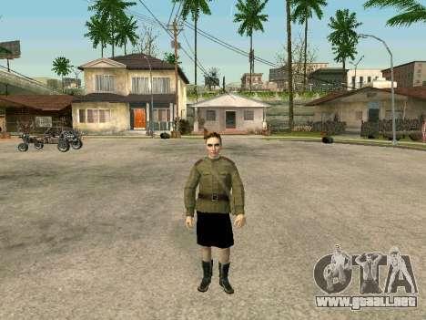 El sargento militar campo de la medicina para GTA San Andreas tercera pantalla