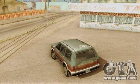 ENB Series v4.0 Final para GTA San Andreas quinta pantalla