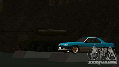 Nissan Skyline 2000 Turbo Intercooler RS-X kouki para visión interna GTA San Andreas