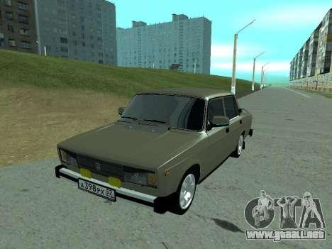 VAZ 2105 Lada para GTA San Andreas