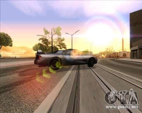 ENB v3.2.3 para GTA San Andreas tercera pantalla