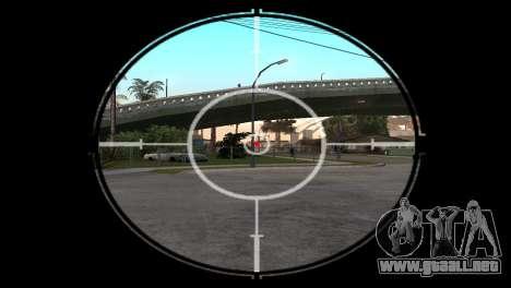 AWP DragonLore из CS:GO para GTA San Andreas tercera pantalla