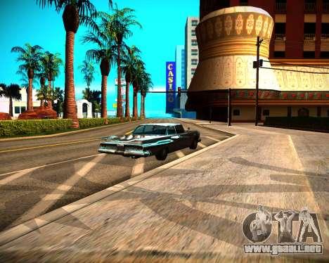 ENB GreenSeries para GTA San Andreas quinta pantalla