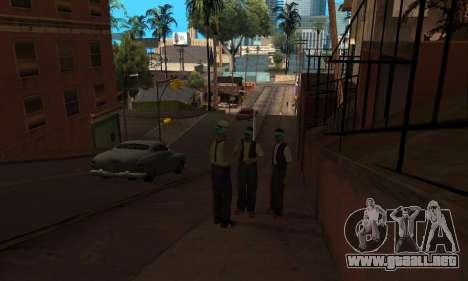 El cambio de las áreas de las pandillas y sus ar para GTA San Andreas sucesivamente de pantalla