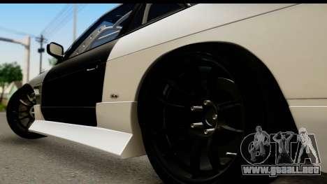 Nissan Silvia S13 Drift para GTA San Andreas vista posterior izquierda