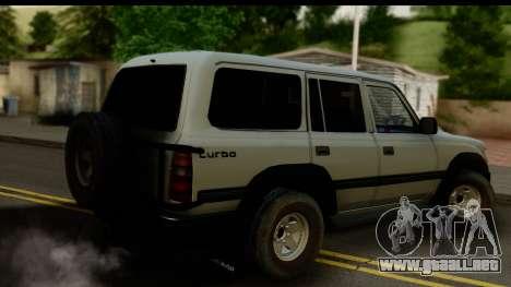 Toyota Land Cruiser 80 v1.0 para GTA San Andreas left