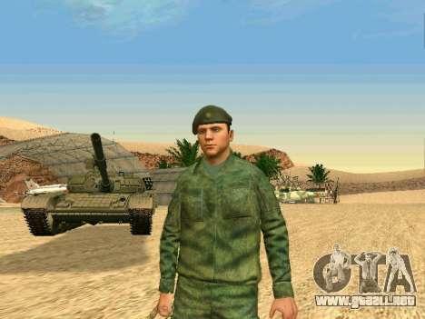 El ejército ruso está en una nueva forma para GTA San Andreas séptima pantalla