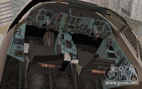 AN-32B Croatian Air Force Closed para GTA San Andreas vista hacia atrás