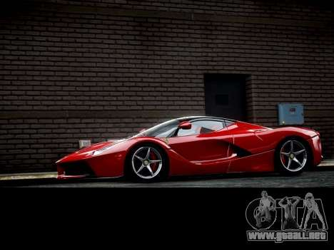 Ferrari Laferrari para GTA 4 left