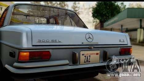 Mercedes-Benz 300 SEL 6.3 (W109) 1967 HQLM para la visión correcta GTA San Andreas