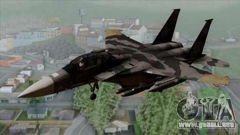 F-15E Yellow Squadron para GTA San Andreas