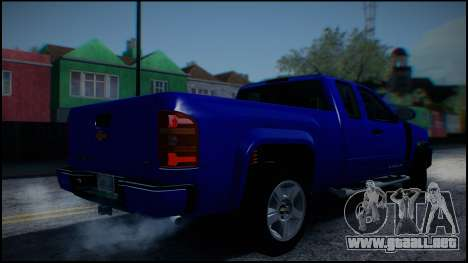 Chevrolet Silverado 1500 HD Stock para vista lateral GTA San Andreas