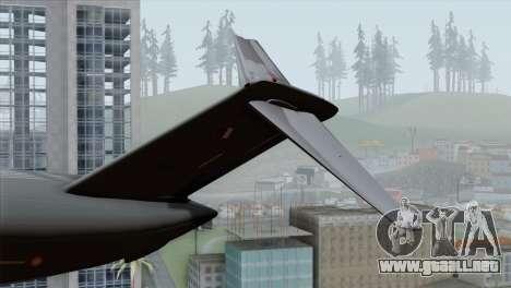 C-17A Globemaster III QAF para GTA San Andreas vista posterior izquierda