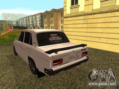 VAZ 2103 para la visión correcta GTA San Andreas