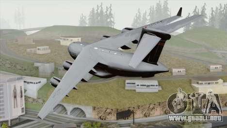 C-17A Globemaster III USAF Hickam para GTA San Andreas left