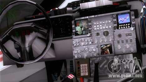 Shuttle v2 Mod 1 para la visión correcta GTA San Andreas