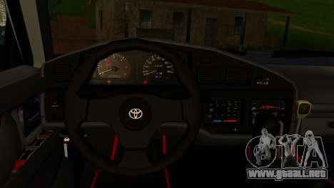 Toyota Land Cruiser 80 v1.0 para la visión correcta GTA San Andreas