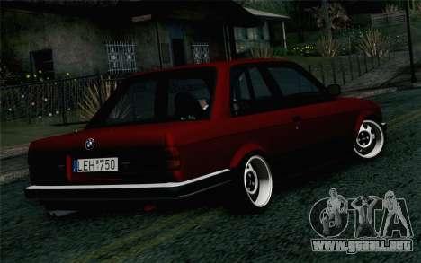 BMW E30 para GTA San Andreas left