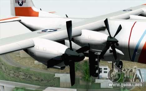 C-130H Hercules Coast Guard para la visión correcta GTA San Andreas