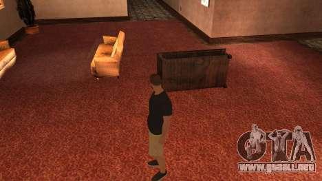 New Zero para GTA San Andreas sucesivamente de pantalla