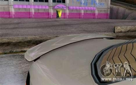 GTA 5 Ubermacht Sentinel XS IVF para la visión correcta GTA San Andreas