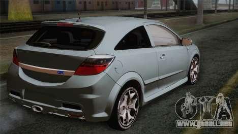 Opel Astra OPC Stock para GTA San Andreas left